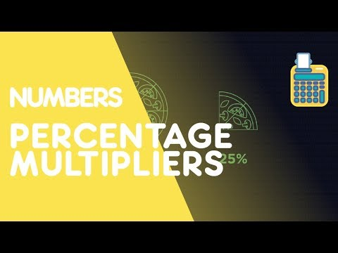 Percentage Increase and Decrease - Using Multipliers | Number | Maths | FuseSchool
