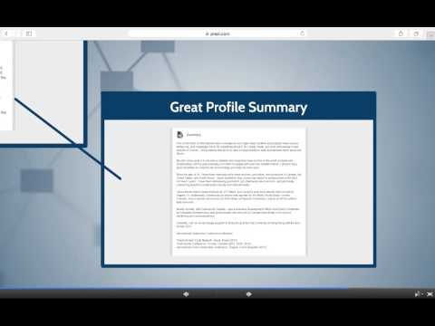 3.2 Writing a Winning Profile Summary - Create an Expert LinkedIn Profile for Job Search