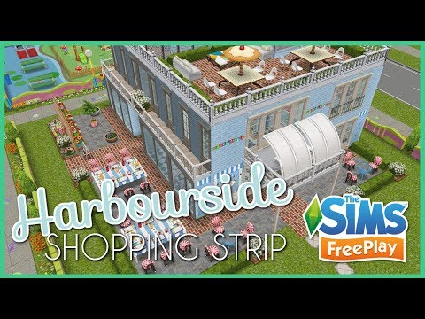 The Sims Freeplay   Harbourside Shopping Strip