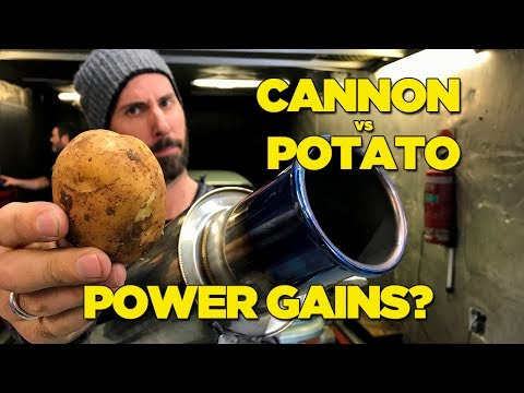Increase HORSEPOWER with a POTATO (IT ACTUALLY WORKS!)