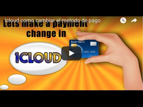 iCloud How to Change Payment Method