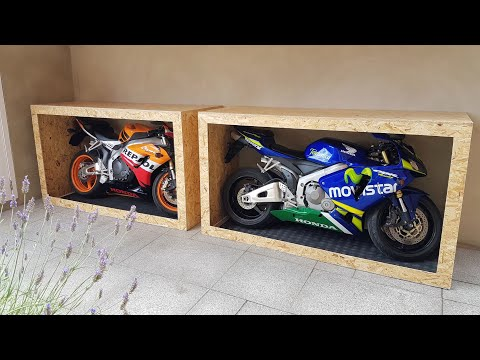 How to build your own movable display box for your motorbike