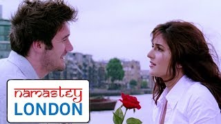 Katrina Kaif Proposed By A Firangi | Scene 2 - Akshay Kumar | Rishi Kapoor | Namastey London