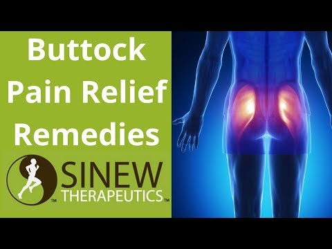 Buttock Pain Relief Remedies