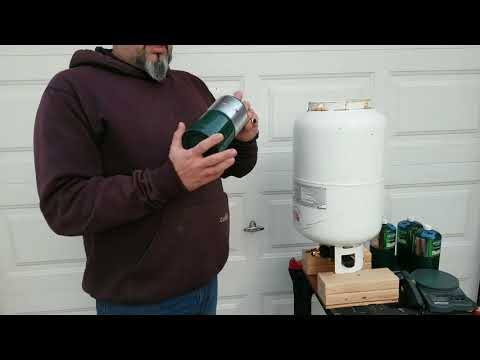 Propane cylinder bottle Refill 1 pound tank Do it Yourself Save $$Money$$ please read description