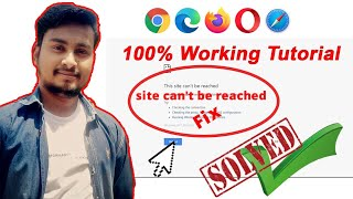Solved: This site can not be reached | PC/Laptop ke Browser main website open nhi ho rahi hai 2020
