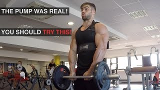Insane Arms Pump With Arm Blaster Tool
