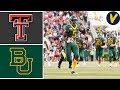 Texas Tech Vs 22 Baylor Week 7 College Football Highlights 2019