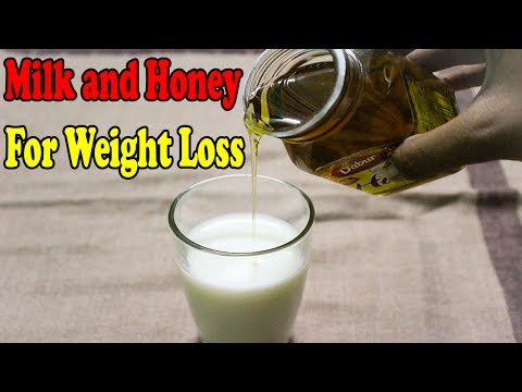 Top Health benefits of milk and honey | Milk and Honey for weight loss | Top Health Facts