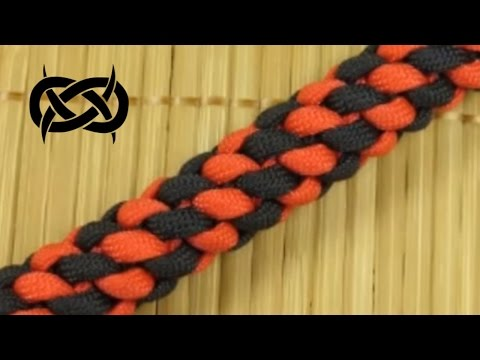How to make a Round Crown Paracord Buckle Bracelet (Paracord 101)