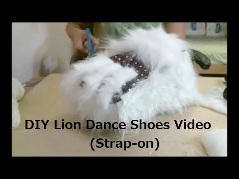 Make Lion Dance Shoes/Paws Video - By 5 Elements Lion Dance