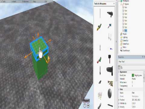How to make a weapon giver in Roblox