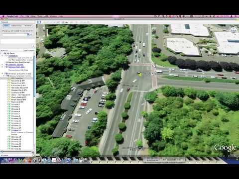 Google Earth | Corridor Fly Through Tool