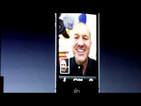 Live demo of FaceTime video calling app for iPhone