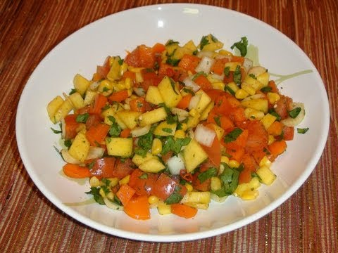 PINOY RECIPE - MANGO SALAD MANGO SALSA RECIPE \ RESIPE