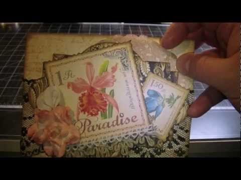 Tropical Layout & Postcards with Calla Lilies