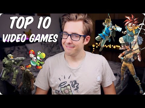 My Top 10 Video Games of ALL TIME