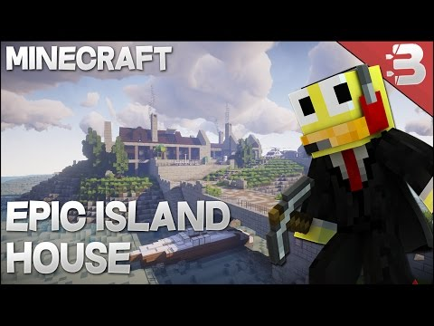 Minecraft Inspiration Series w/ Keralis | Epic Island House Barn Conversion + Light House