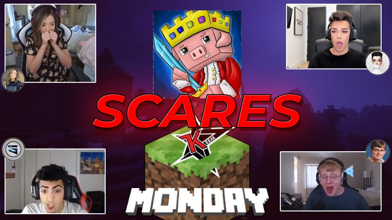 Youtubers getting scared of Technoblade (The Story) | Minecraft Monday
