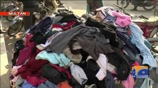Special Report - People visit Landa Bazar in multan