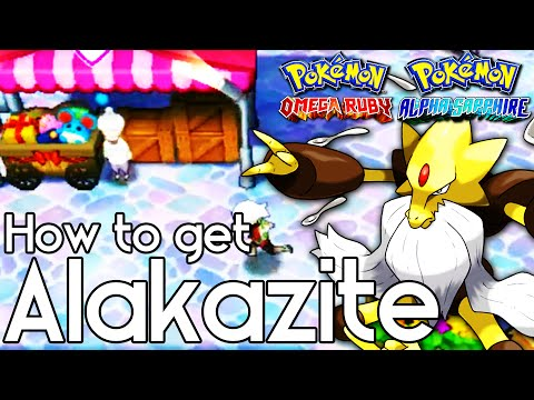 How to Get Alakazite – Pokemon Omega Ruby and Alpha Sapphire