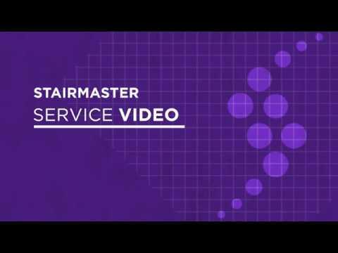 646-1336 StairMaster StepMill Shroud Removal Procedure