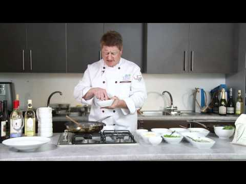 How to make snow crab and sweet pea risotto - filmed at Jamie Oliver's Fifteen
