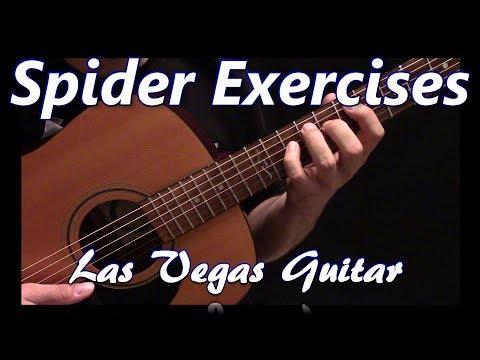 Guitar Spider Exercises to Improve Finger Dexterity