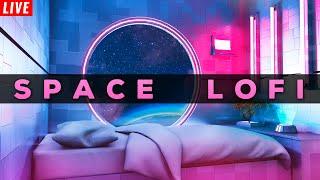 4K 🔴 Space Lofi Radio 24/7 🌌 Aesthetic Lofi Hip Hop Beats to Chill / Study to