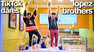 Hype House LOPEZ BROTHERS Funny Brother vs Brother TikTok Challenge