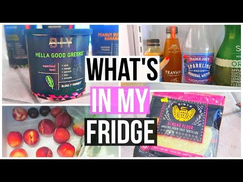 WHAT'S IN MY FRIDGE! + WHOLE FOODS GROCERY HAUL