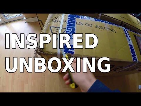 Ali Clarkson Vlog 19 - Inspired Unboxing
