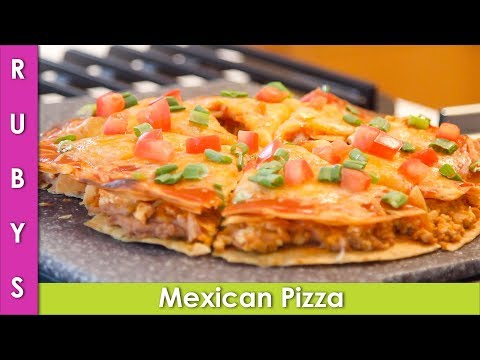 Mexican Pizza Recipe with Ground Chicken Taco Bell Copycat Recipe - CWR