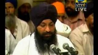 """Shabad: """"CHIM CHIM VARSE AMRIT DHARA"""", sung by Bhai Sarabjit Singh Ji....Darbar Sahib Kirtan"""
