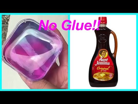 No Glue Slime Recipes!! 💦Testing No Glue Slime Recipes!!