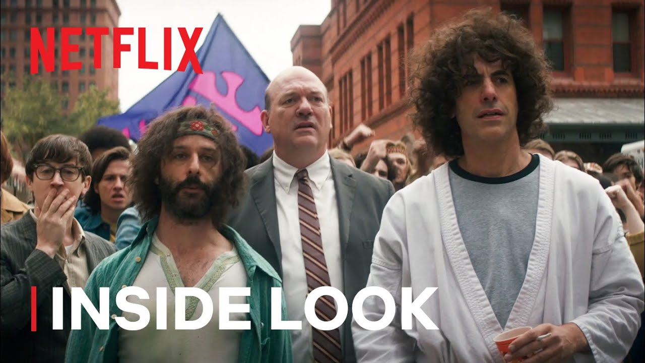 The Whole World is Watching: Inside Aaron Sorkin's The Trial of the Chicago 7 | Netflix