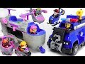 Paw Patrol Ultimate Rescue Skye Helicopter Police Cruiser Defeat PJ Masks Villains DuDuPopTOY