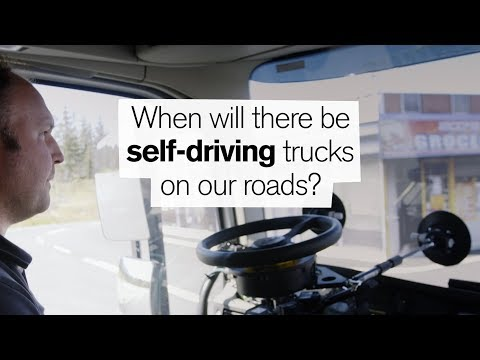 Volvo Trucks - Automation - When will there be self-driving trucks on our roads?