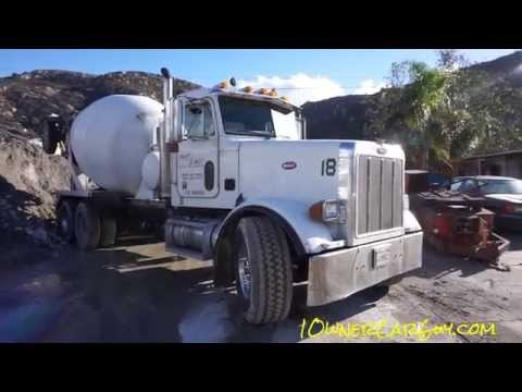 Concrete Truck Ruined Cleaning Hard Cement From Mixer Barrel