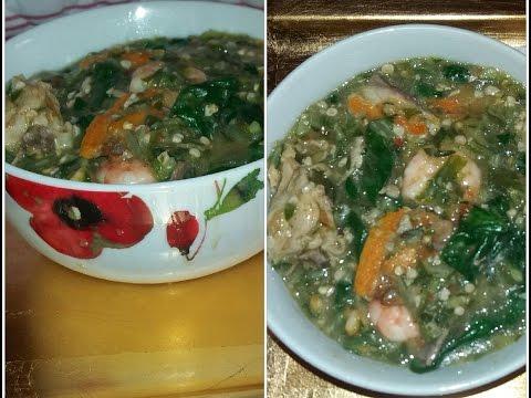 White Okra Soup (Supa-bu-weh)