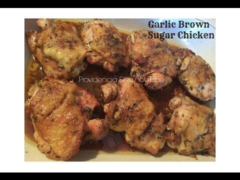 Garlic Brown Sugar Chicken