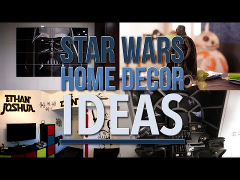 5 Star Wars Home decor ideas