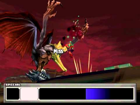 FF8 Zell with Squall's Renzokuken