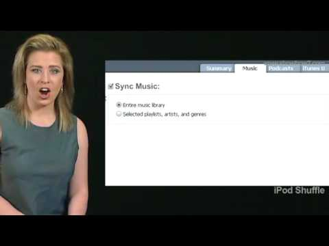 iPod Shuffle - How to Syncing Songs and Playlist automatically