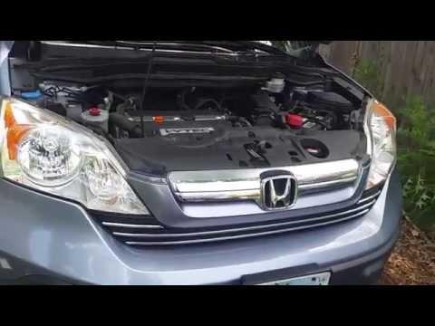 2007 Honda CRV AC Compressor and Serpentine Belt
