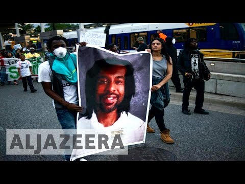 watch Thousands protest against acquittal of officer who killed Philando Castile