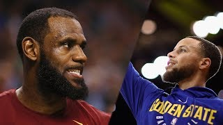 Lebron James Goes WILD, Mimics Steph Curry After Cavs Practice