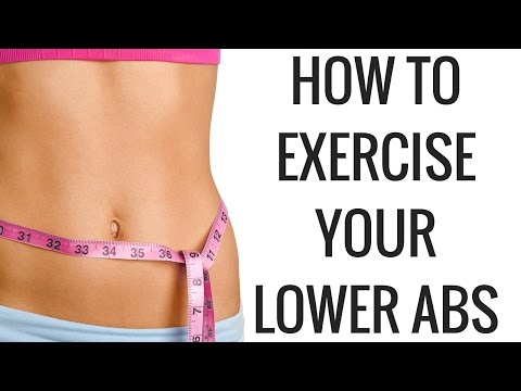 HOW TO EXERCISE YOUR LOWER ABS - Christina Carlyle