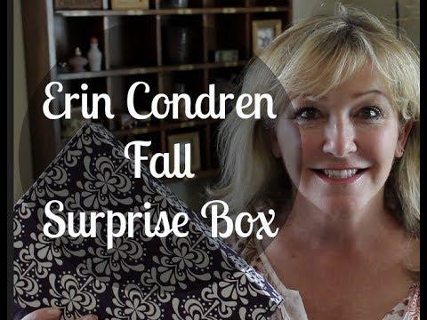 Erin Condren Surprise Box—Fall #ECSurpriseBox