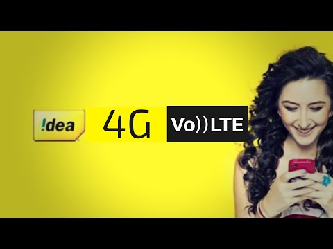 idea VoLte : Launching & new plan Review